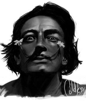Salvador Dali by RedSmile77
