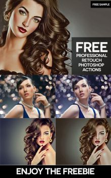 Free Professional Retouch Photoshop Actions by Ahsaninspire