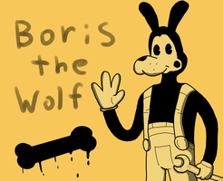 Boris the Wolf by RichardtheDarkBoy29