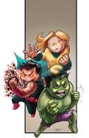 Lil Dude Avengers 3 by MARR-PHEOS