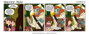 Gravity Falls: Artifacts 4 by illeity