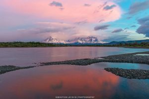 Chile | Pink vs Blue by lux69aeterna