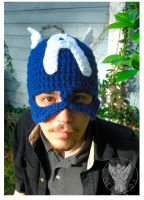 Captain America Hat by TheCrochetDragon
