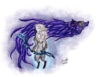Kindred Fan Art lol by Inkstandy