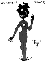 CDC June: Day 25 - Ego by hellebee