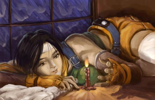 Yuffie Bday by madscuzzy