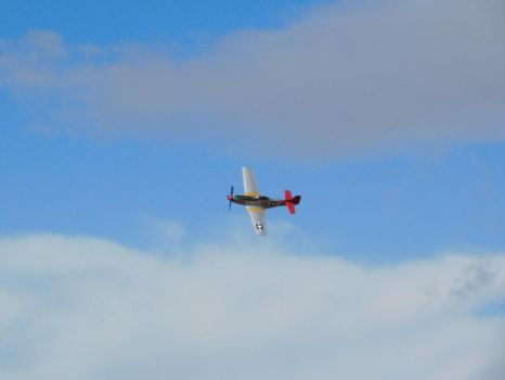 USAF P-51 Mustang, Southport (16/09/2017) by DaveOnTheRails