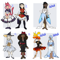 Big batch adoptables - OPEN by dragonfairy77-adopts