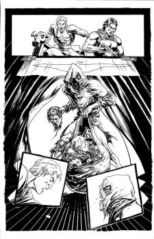 the final quest page the mark frangos book by FabianQuintero