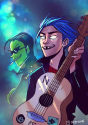 2D and Ace by cryo-draws