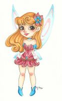 Chibi Disney Fairy Collection: Aurora by chelleface90