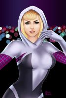 Spider-Gwen by jaleh