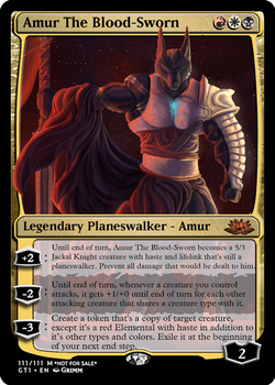 Amur The Blood-Sworn - Planeswalker by Cryptos13