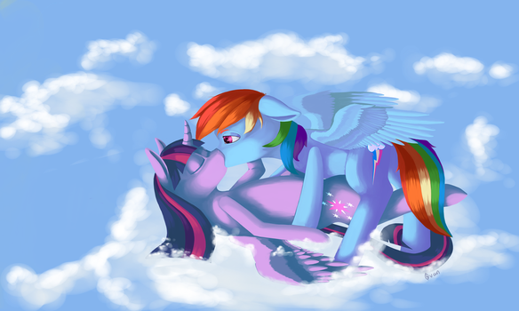 TwiDash Head in the Clouds by Ovan-art