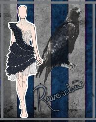 House Couture - Ravenclaw by DistantDream
