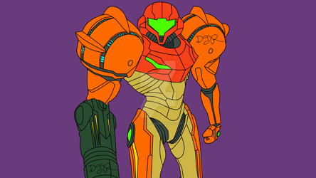 Samus Aran by Fly-From-The-Inside
