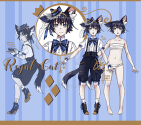 [Closed] Adoptable Auction - Royal Cat I by VionFrei