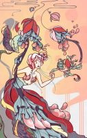 Rococo Roses by zylanthe