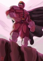 King Of The Hill - M.Bison/Vega by Shadaloo1989