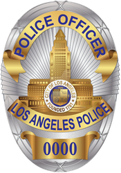 Los Angeles Police Department LAPD Badge by tempest790