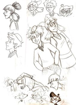 HA: Sketches by sunni-sideup