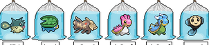 Adoptable PixelFish Pokemon Aquatic 2