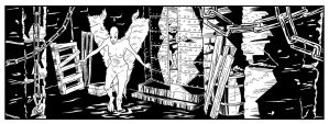 Extract from 'The Pariah' Issue 2 by The-Real-NComics