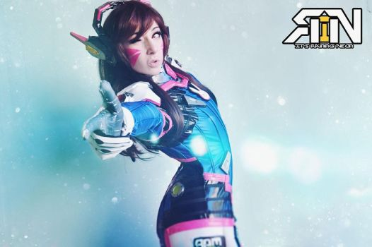GG Love D.va by Its-Raining-Neon
