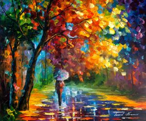 Dedication Of Love by Leonid Afremov by Leonidafremov