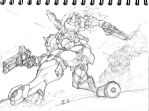 Action Sketch-Jaguar- by the-hary