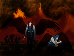 The Raid On Hell - wallpaper size by constantron