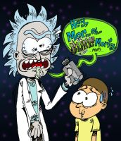 Rick and Morty by ANDREU-T
