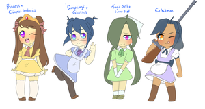Maid adoptables [PAYPAL ADOPTS] by ShiroShototsu