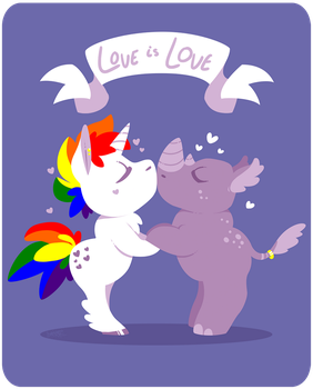 Love is love by raygirl