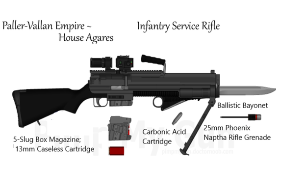 PVE House Agares Smooth Bore Infantry Carbine by daemon99