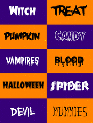 |+FONTS PACK #O2 | HALLOWEEN by xPufflex