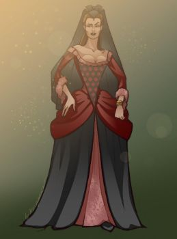 A Noble Lady by HeavyMouse