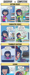 DORKLY: Overwatch: Quick Play vs. Competitive by GeorgeRottkamp