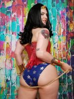 Wonder Woman Cosplay by SynthetikaCosplay