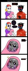 Don't say the F word by Uketello