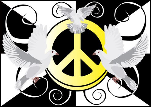 Peace Is What We Need. by TofuXpress