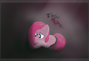 Draw-Off April 27, Sad and cute Pinkie DAY35 by DarkFlame75