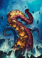 Hearthstone - Tentacle of N'Zoth by Tonywash
