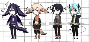[CLOSED] mixed batch set price adopts by Himetochan