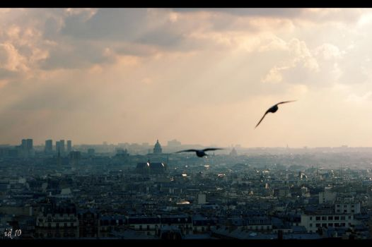 Scene from sacre coeur by Pithana