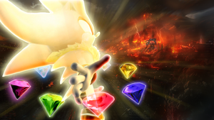 SuperSilver against Iblis ~It's time to end this!~ by RealSonicSpeed