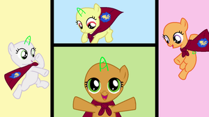 MLP Cutie Mark Crusaders Base by Jen-neigh