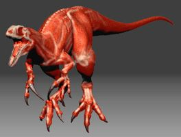 Australovenator Wintonensis render 6 by 2195Razielim