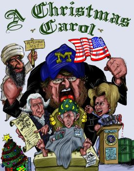 A Christmas Carol - Colored by CaricaturEd