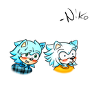 Two types of men (or How to react to cuteness) by MagicalNikolaj